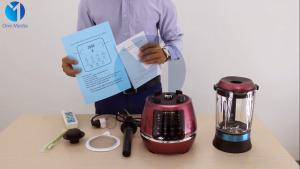 Hướng dẫn lắp đặt và sử dụng Máy Xay Nấu Đa Năng HAIPAI
