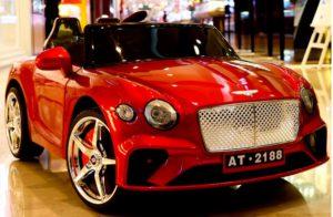Xe ô tô điện trẻ em 2 chỗ ngồi AT-2188 là dòng xe vô cùng mạnh mẽ, kiểu dáng tương lai.Thông số kĩ thuật của xe ô tô điện trẻ em AT-2188:Tên sản phẩm : Xe ô tô điện trẻ emMã sản phẩm: AT-2188Kích thước: 120x 70x 55cmVận tốc : 3-6 km/hTải trọng : 50kgĐộ tuổi : 1-8 tuổiẮc quy : 12V-7aĐộng cơ : 4 động cơHộp nhạc : có Trọng lượng: 24 kgĐèn: cóĐiều khiển : có